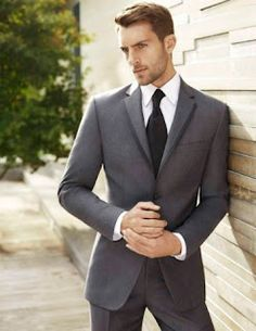 Very dark grey for the groomsmen. | JZDC Bridesmaids and Groomsmen ...