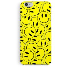 SMILEY FACE iPhone Case, 90s Rave, Cool iPhone 5c Case, Hard Plastic... (200 ARS) ❤ liked on Polyvore featuring accessories, tech accessories, apple iphone cases, iphone cases, iphone sleeve case and iphone cover case