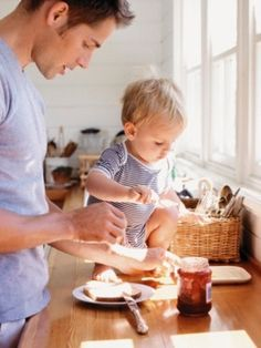 Cooking father son