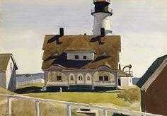 Iconic New England Coast per Hopper