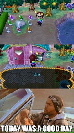 It's Always a Good Day With Animal Crossing
