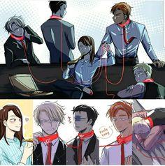 Here's more that I liked 😂😂😂 Sorry guys lolololol More fanarts under I swear I won't spam XDDDD I Love Yoo Webtoon, Manga Anime, Anime Art, Comics Love, Webtoon Comics, Anime Shows, Anime Couples, Manhwa, Animation