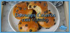 Bagel, Chocolate, Breakfast, Food, Crumpet Recipe, Buns, Strawberry Fruit, Sweets, Deserts