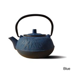 @Overstock - The heat-retaining properties of cast iron allow this tetsubin teapot to keep tea at the proper serving temperature for up to an hour. This teapot includes an infuser and has a 20-ounce capacity.   http://www.overstock.com/Home-Garden/Old-Dutch-Tetsubin-Osaka-20-oz-Teapot/7549715/product.html?CID=214117 $29.99