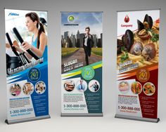 Premium Roll-Up Banner / Signage Template by inddes... - Envato Studio