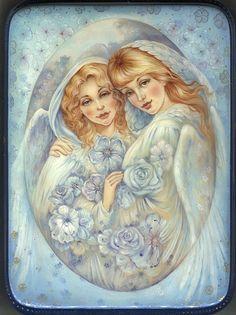 Title: Two Angels Artist: Danchenko Taisiya