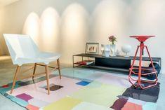 Arte pelas paredes e pelo chão