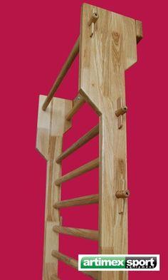 oak swedish ladder