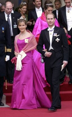 Hello!  The Earl and Countess of Wessex at the wedding of Crown Prince Frederik of Denmark to Mary Donaldson, May 2004 by traci