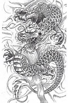 han-riu dragon tattoo - Google Search