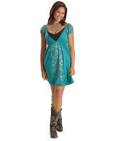 Texas Cowgirls Pink Dress
