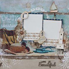 Life is Beautiful Bonus Sample (MMK143) Gabriellle Pollacco Kaisercraft