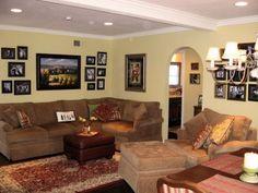 Dunn Edwards (Tortilla) - family room color