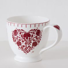 Jan Constantine - Romany Heart Small Mug, £9.50 (http://www.janconstantine.com/romany-heart-small-mug/) UK ONLY