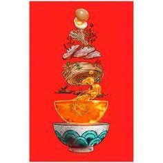 Tonkatsu Ramen Print from Paul Reinwand