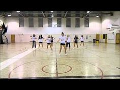 Cheerleading Dance, some of the moves would be easy enough for my 1st graders.