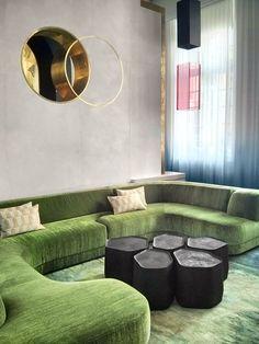 """Lovely shapes, soft green curves. Charles Zana www.zana.fr """""""