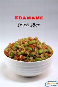 Edamame Fried Rice Recipe