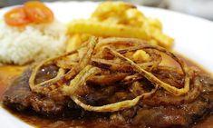 Hovězí maso je výborná volba na chutný oběd. Jako přílohu k vídeňské roštěné můžeme zvolit bramborovou kaši, hranolky nebo rýži. Dobrou chuť!