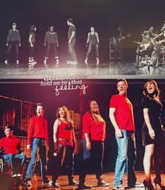 That was probably one of my favorite moments on the show. It really have that original glee feeling that I loved from season 1.