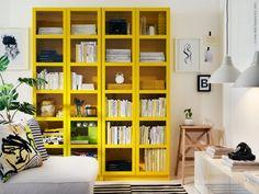 BILLY nieuwsgierig geel (en groen!) - IKEA FAMILY
