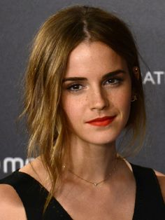 But also: her hair. | We Need To Talk About Emma Watson's Hair