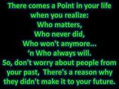 I have learned this the hard way! Thankfully I have the people God has placed in my life !