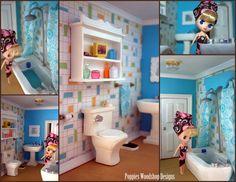 Super cute Blythe Dollhouse Bathroom