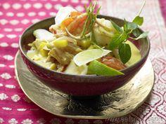 Fisch-Kokos-Curry - smarter - mit Mango, Tomaten und scharfen Gewürzen. Kalorien: 387 Kcal | Zeit: 45 min. #fish #curry