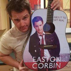You will never be as cool as easton Corbin with an easton Corbin guitar My Love Song, Easton Corbin, Justin Moore, Jake Owen, Brantley Gilbert, Dierks Bentley, Thomas Rhett, Florida Georgia Line, Eric Church