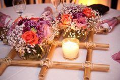 Confira as fotos dos melhores arranjos de flores para você colocar na mesa de casamentos, e ter uma ideia perfeita e com harmonia para decoração da festa.