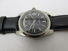 VINTAGE TUDOR OYSTER PRINCE DAY DATE ROTOR SELF WINDING BLACK DIAL MEN WATCH
