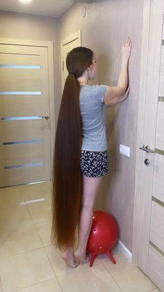 Long Ponytail Hairstyles, Long Hair Ponytail, Braids For Long Hair, Pretty Hairstyles, Long Thin Hair, Long Black Hair, Super Long Hair, Long Hair Drawing, Long Hair Models
