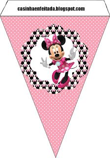 party kit pink minnie free to print
