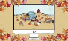 Illustrations, Mobile Wallpaper, Milk, Comics, Blog, Wallpapers, Lifestyle, Pumpkin Patches, Fall Background