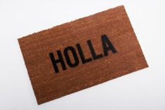 So rad, I can use this tutorial to make it!!  http://www.ispydiy.com/2013/06/my-diy-welcome-mat.html!