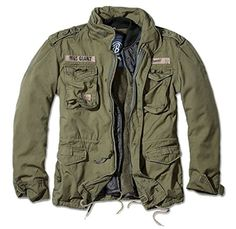 Details about Brandit Classic Mens Field Jacket Warm Lining Hunting Parka Army Coat Olive - Men's fashion, style shapes and clothing tips Us Army Jacket, M65 Jacket, Army Coat, Military Parka, Military Style Jackets, Corduroy Jacket, Blazer Jacket, Military Fashion, Mens Fashion