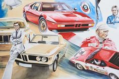 The one painting that every BMW fan should see: The Blue Hero
