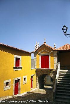 Porta da Vila - Torre de Moncorvo - , Douro Superior, Portugal by Portuguese_eyes, via Flickr