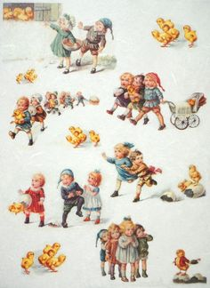 Rice Paper for Decoupage Decopatch Scrapbook Craft Sheet Easter Playground