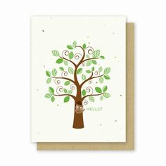 Grow-a-Note® Hello Owl - Green Field Paper Company