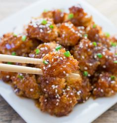 Baked Honey Garlic Chicken | Kirbie's Cravings | A San Diego food blog