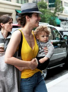 Kind of obsessed with Marion Cotillard's baby boy Marcel