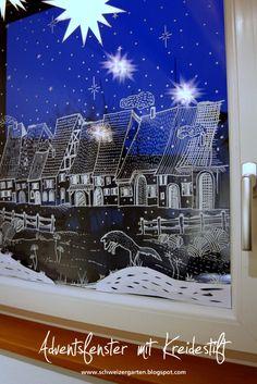 Christmas Deco, Christmas Crafts, Window Art, Chalkboard Art, Chalk Art, Love Art, Ramen, Diy Projects, Crafty