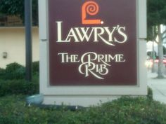 Lawry's The Prime Rib in Beverly Hills, CA