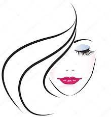 Image result for visage femme vectoriel
