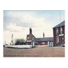 Old Postcard - Heacham Norfolk - vintage gifts retro ideas cyo