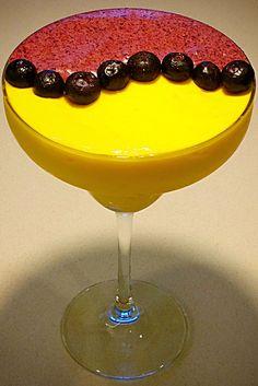 Blueberry Mango Swirl smoothie bowl breakfast margarita