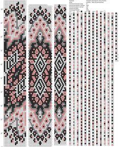 16 around tubular bead crochet rope pattern Crochet Bracelet Pattern, Crochet Beaded Necklace, Loom Bracelet Patterns, Bead Crochet Patterns, Bead Crochet Rope, Beaded Jewelry Patterns, Peyote Patterns, Beading Patterns, Beading Tutorials