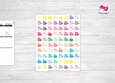 Videocameras printable stickers*Vlog Stickers*Youtube printable stickers*Printable Instant Download*Stickers for planner*Erin Condren by PrintableFiles on Etsy